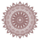 Mandala. Circular pattern on a white background.  vector illustration Stock Images
