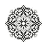 Mandala Circular prydnad Arkivfoto