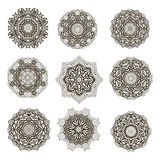 Mandala collection11 Royalty Free Stock Photography