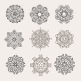 Mandala collection13 Stock Photo