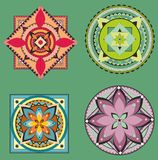 Mandala collection set Stock Photo