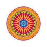 Mandala coloré Images libres de droits