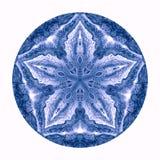 Mandala coloré d'aquarelle Modèle rond de vintage oriental Fond abstrait tiré par la main Motif mystique de tabouret Images libres de droits