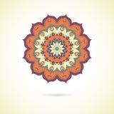 Mandala coloré ornemental Images stock