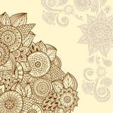 Mandala coloré Ornements ronds décoratifs Photos libres de droits