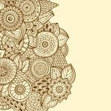 Mandala coloré Ornements ronds décoratifs Image libre de droits