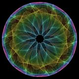Mandala coloré Photographie stock