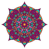 Mandala color Stock Photography