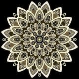 Mandala colorful. East, ethnic design, oriental pattern, round ornament. For use in fabric decor,  , print, tattoo Stock Images