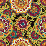 Mandala, colorful seamless Royalty Free Stock Photos