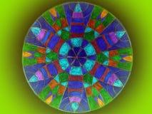 Mandala colorida Foto de Stock