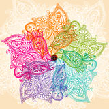 Mandala colorida Fotos de Stock