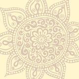 Mandala colorida Ornamento redondos decorativos Imagens de Stock