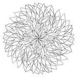 Mandala for coloring Royalty Free Stock Images