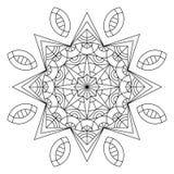 Mandala coloring book Stock Photography