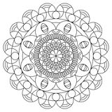 Mandala coloring book Royalty Free Stock Photography