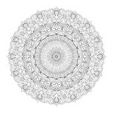 Mandala. For coloring books, and for background Stock Photo