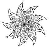 Mandala Coloring Illustration Image libre de droits