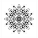 Mandala Coloring Illustration Photos libres de droits