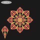 Mandala Coloring Illustration Images libres de droits