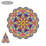 Mandala Coloring Illustration 5 Image libre de droits