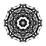 Mandala Coloring Illustration 3 Images stock