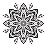 Mandala Coloring Illustration 2 Fotos de Stock Royalty Free