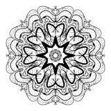 Mandala Coloring Illustration 5 Image stock