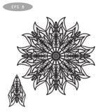 Mandala Coloring Illustration pour Photo libre de droits
