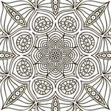 Mandala. Coloring page Stock Photos