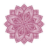 mandala Configuration florale décorative Illustration de vecteur de style ethnique Photo stock