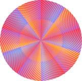 Mandala cor-de-rosa ilustração do vetor