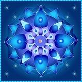 Mandala cosmica Fotografie Stock