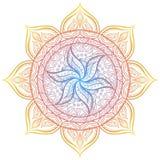 mandala Círculo ornament Imagen de archivo libre de regalías