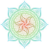 mandala Círculo ornament Fotos de archivo