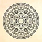 mandala Círculo ornament Foto de archivo libre de regalías