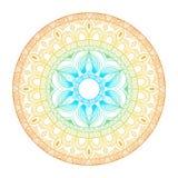 mandala Círculo ornament Fotografía de archivo