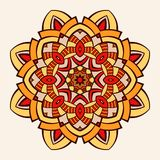 mandala Creatief cirkelornament Royalty-vrije Stock Fotografie