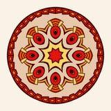 mandala Creatief cirkelornament Royalty-vrije Stock Foto