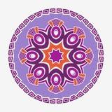 Mandala. Creative circular ornament. Round symmetrical pattern. Vintage decorative elements. Ethnic oriental pattern. Ottoman motifs. Tattoo design. Vector vector illustration