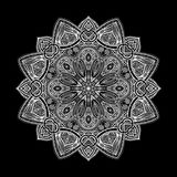 Mandala Czarni Nowi 2 Obrazy Royalty Free