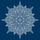 Mandala Czarni Nowi 3 Obraz Stock