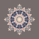Mandala décoratif coloré complexe Photographie stock libre de droits