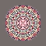 Mandala décoratif coloré complexe Images stock