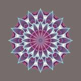 Mandala décoratif coloré complexe Images libres de droits