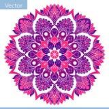 Mandala décoratif coloré Modèle oriental illustration libre de droits