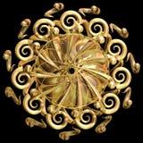 mandala d'or illustration libre de droits