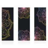 Mandala d'aquarelle, décor pour votre conception, Photos libres de droits