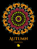 Mandala d'automne Photos stock