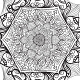 Mandala d'ensemble illustration de vecteur